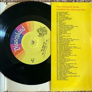 The Wizard is Oz vintage record